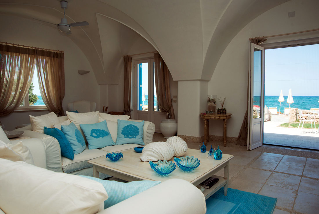 Luxury seaside hotel in Puglia