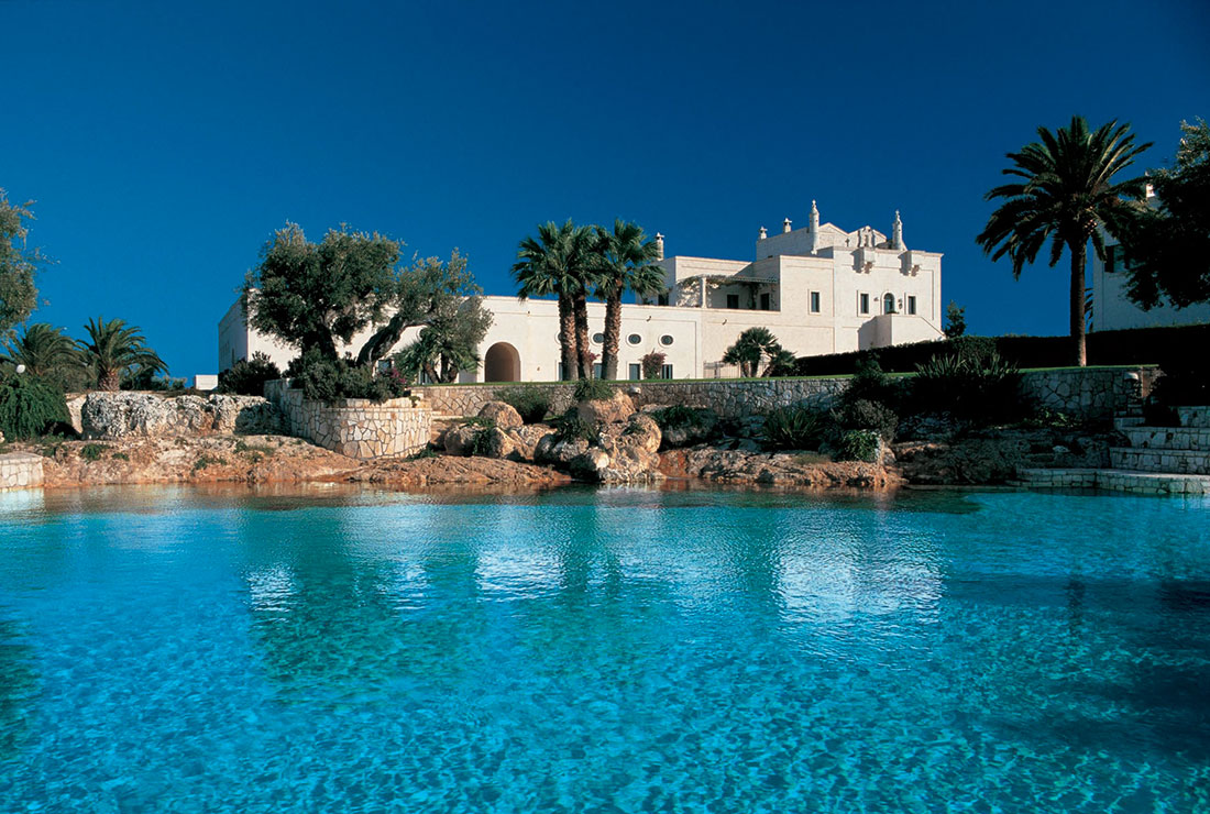 5 star hotel with pool in Puglia