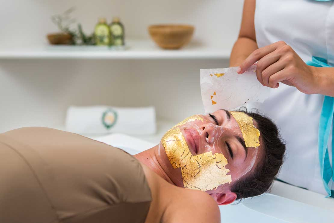 beauty golden mask facial mimiluzon
