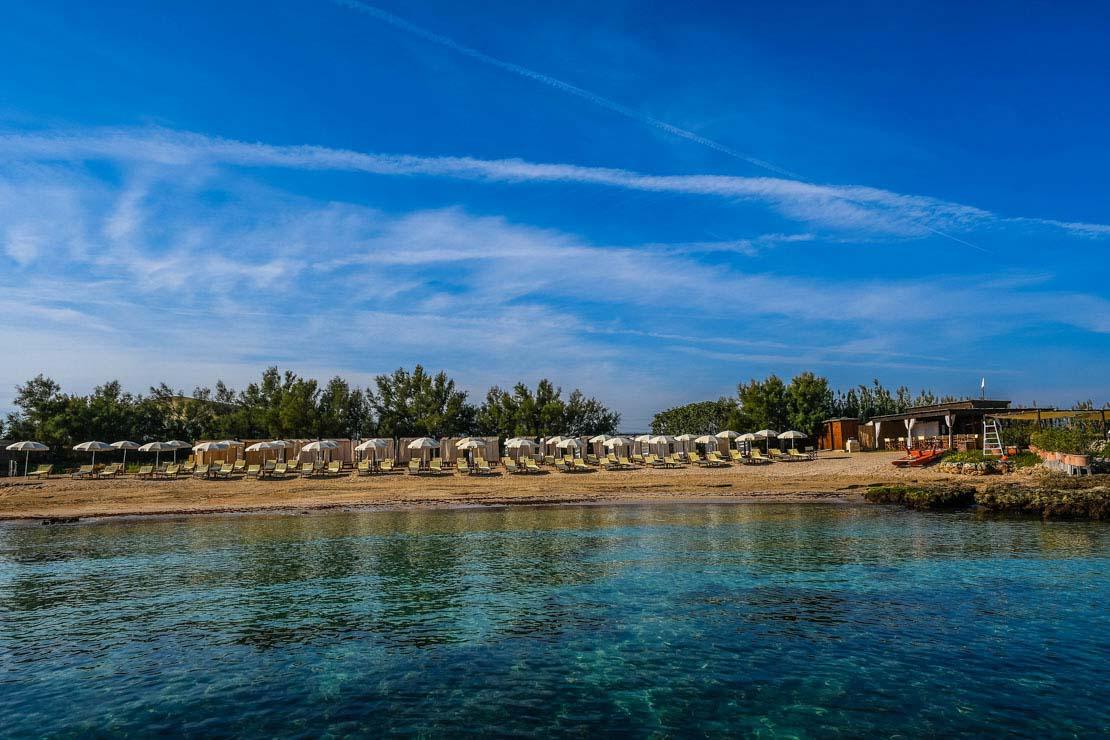 spiaggia privata hotel puglia