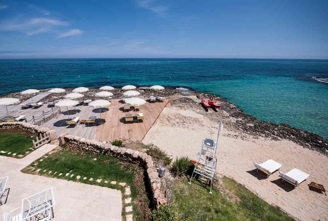 Beach Club Italy Five Star Hotel In Puglia