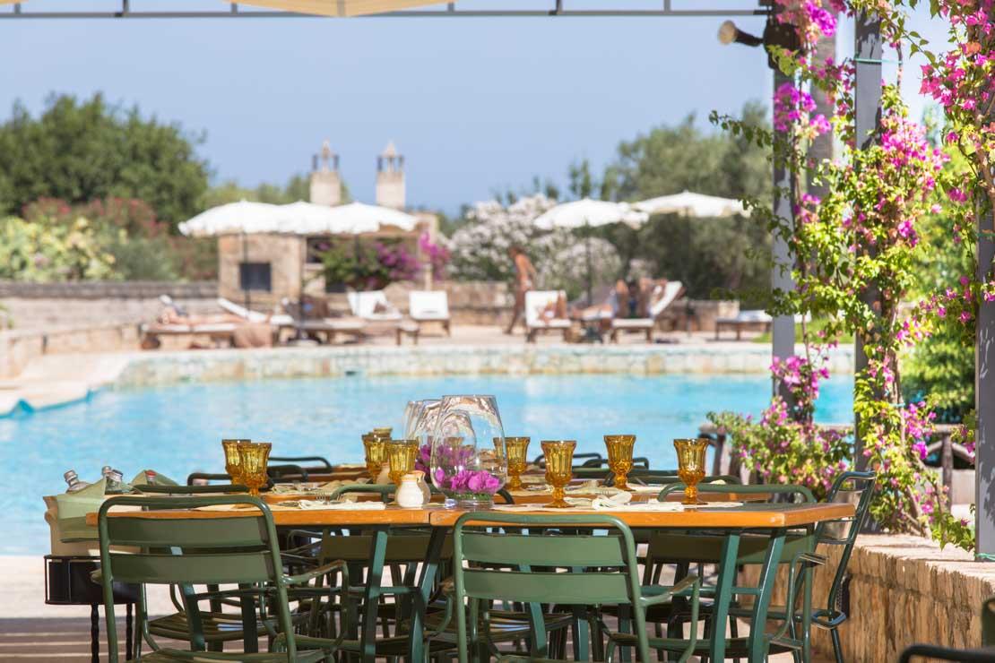 ristorante pugliese buffet piscina