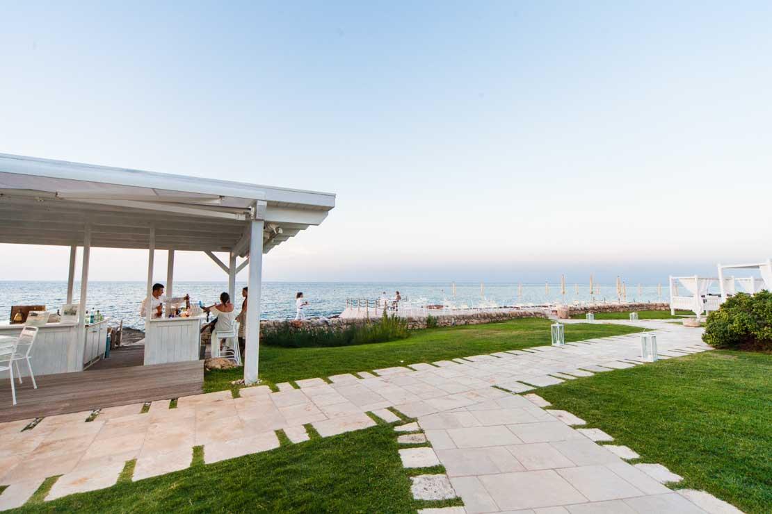 ristorante sul mare italia