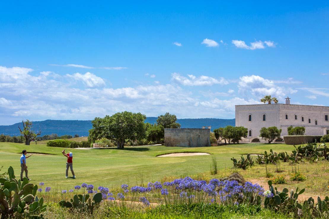 hotel con campo da golf