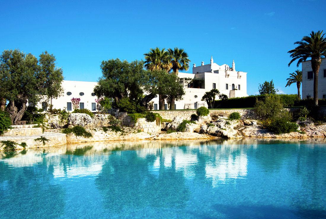 Hotel con piscina in puglia masseria san domenico - Masseria in puglia con piscina ...